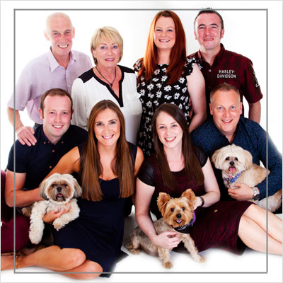 View our Portait Photography Gallery of Families...